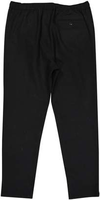 Lemaire X Uniqlo Black Wool Trousers