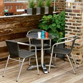 CB2 Eddy Round Outdoor Table