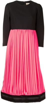 Comme des Garcons Panelled Colour-Block Dress