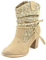Not Rated Thumbs Up Women Round Toe Synthetic Ankle Boot.