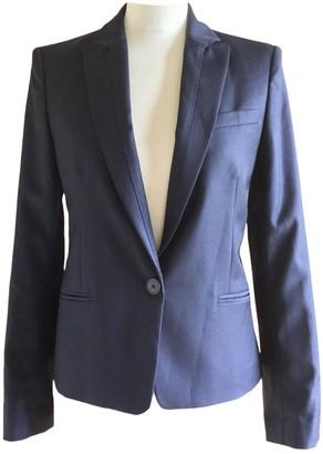 Comptoir des Cotonniers Navy Wool Jackets