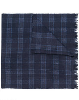 Hackett striped woven scarf
