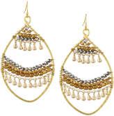 Nakamol Open Fringe-Layer Marquise Drop Earrings