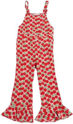Stella McCartney CHERRY PRINTED VISCOSE JUMPSUIT