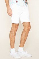 Forever 21 Distressed Cuffed Chino Shorts