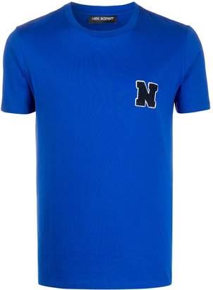 Neil Barrett logo-patch T-shirt