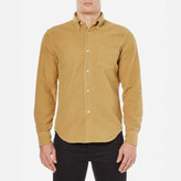 Our Legacy 1950's Yolk Peeled Flannel Shirt Yellow