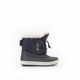 Aigle Kids Nervei Fur Lined Wellington Boots