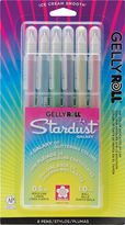 Asstd National Brand Gelly Roll Stardust Bold Point Pens - Galaxy 6 Pack