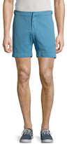 Orlebar Brown Cavrin Linen Solid Shorts