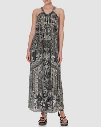 Camilla Women's Black Maxi dresses - Drawstring Dress - Size One Size at The Iconic