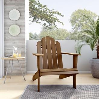 Linon Gavil Teak Adirondack Chair