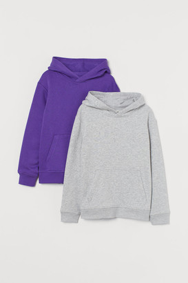 H&M 2-Pack Hooded Tops