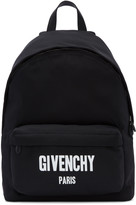 Givenchy Black Logo Backpack