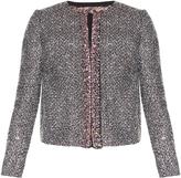 Giambattista Valli Crystal-embellished tweed jacket
