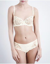 Simone Perele Wish stretch-tulle and lace underwired half-cup bra