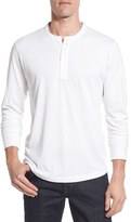 Nordstrom Brushed Pima Cotton Long Sleeve Henley