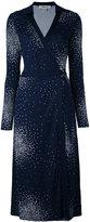 Diane von Furstenberg dotted dress
