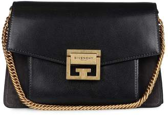 Givenchy Suede And Leather Gv3 Small Bag
