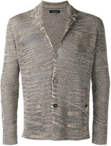 Roberto Collina patch pocket cardigan - men - Linen/Flax/Polyester/Viscose - 52