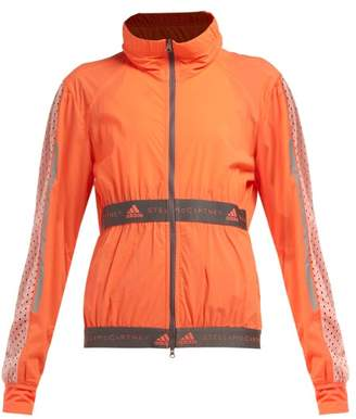 adidas by Stella McCartney X Parley For The Oceans The Run Performance Jacket - Womens - Orange
