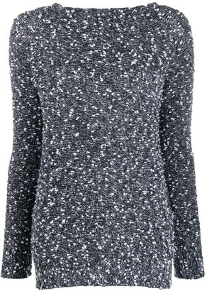 Snobby Sheep round-neck knit sweater