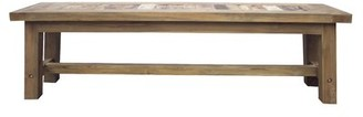 Rosecliff Heights Dashwood Bench Color: Natural/Unfinished