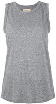 Current/Elliott wrap back tank top - women - Cotton/Polyester/Rayon - 0
