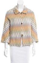 M Missoni Pattern Button-Up Jacket