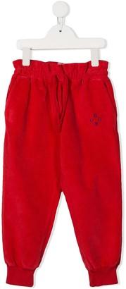Bobo Choses Ruffle Waist Track Pants