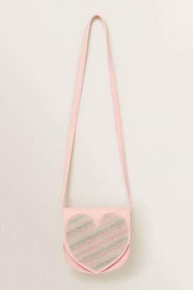 Seed Heritage Jewel Heart Saddle Bag