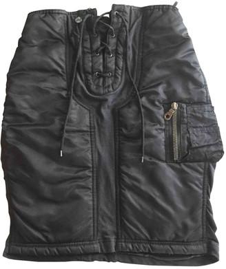 Gaultier Junior Black Skirt for Women Vintage