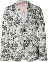 Gucci tailored floral blazer - men - Cotton/Cupro - 50