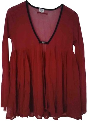 Jean Paul Gaultier Burgundy Top for Women Vintage