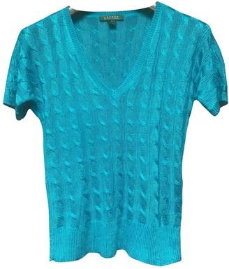Lauren Ralph Lauren Turquoise Linen Knitwear for Women