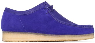 Clarks Combi Wallabee lace-up shoes