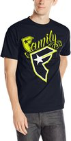 Famous Stars & Straps Men's New Widcat Short Seeve Graphic T-Shirt-arge