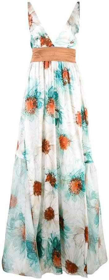 Silvia Tcherassi maxi floral dress