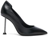 Victoria Beckham Suede Pointy Pumps in Black.