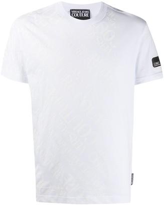 Versace all-over logo print T-shirt