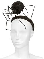 Francesco Ballestrazzi - Black Widow Lace Red Crystal Headband