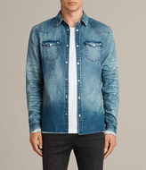 Allsaints Ikeoa Denim Shirt