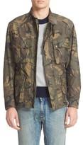 Belstaff Men's Tyefield Camo Wax Cotton Jacket