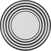 J.L. Coquet Hemisphere Vinyl Stripe Charger