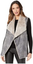 True Grit Dylan By Dylan by Maddie Reversible Vest with Soft Bonded Faux-Shearling (Denim) Women's Clothing