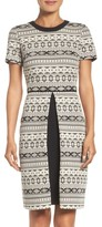 Maggy London Women's Fit & Flare Sweater Dress