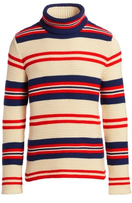 Gucci Stripe Wool-Blend Knit Sweater