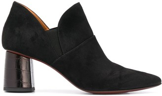 Chie Mihara High-Heeled Leather Pumps