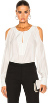 Barbara Bui Open Shoulder Blouse