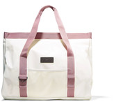 adidas by Stella McCartney Canvas-trimmed coated-PVC swim tote